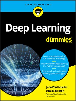 cover image of Deep Learning For Dummies