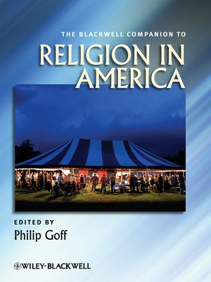 cover image of The Blackwell Companion to Religion in America