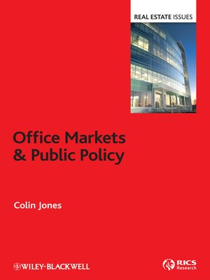 cover image of Office Markets and Public Policy
