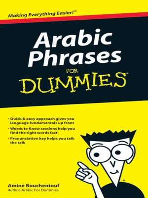 cover image of Arabic Phrases For Dummies®
