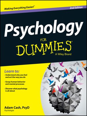 cover image of Psychology For Dummies
