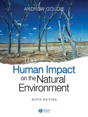 cover image of The Human Impact on the Natural Environment