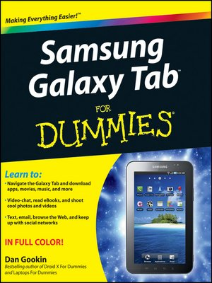 cover image of Samsung Galaxy Tab For Dummies