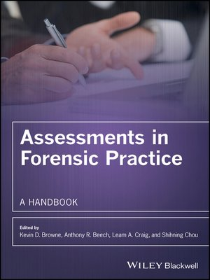cover image of Assessments in Forensic Practice