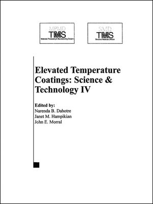 cover image of Elevated Temperature Coatings