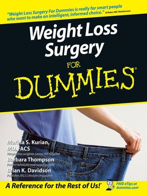 cover image of Weight Loss Surgery For Dummies