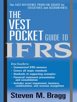 cover image of The Vest Pocket Guide to IFRS