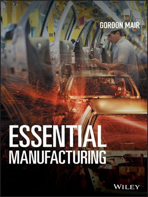 cover image of Essential Manufacturing