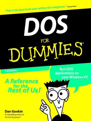 cover image of DOS For Dummies