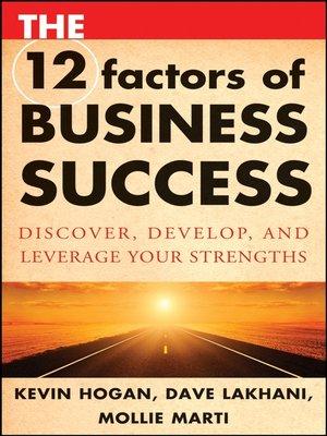 Kevin hogan overdrive rakuten overdrive ebooks audiobooks the 12 factors of business fandeluxe Epub