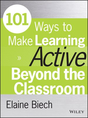 cover image of 101 Ways to Make Learning Active Beyond the Classroom