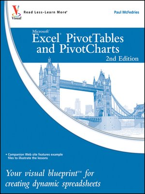 cover image of Excel PivotTables and PivotCharts
