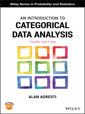 cover image of An Introduction to Categorical Data Analysis