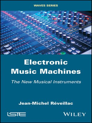 cover image of Electronic Music Machines