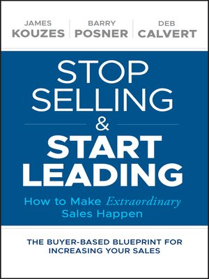 cover image of Stop Selling and Start Leading
