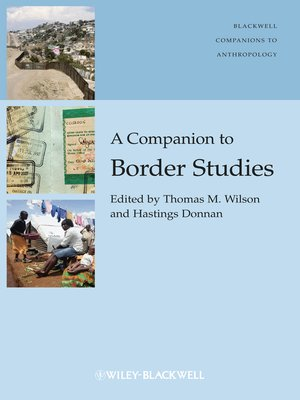 cover image of A Companion to Border Studies