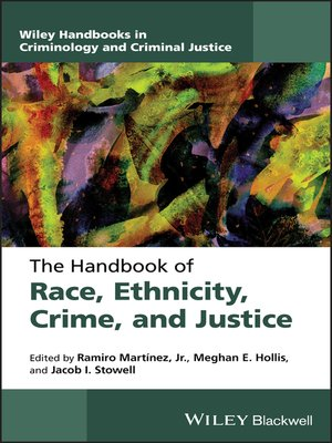 cover image of The Handbook of Race, Ethnicity, Crime, and Justice