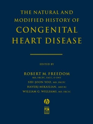 cover image of The Natural and Modified History of Congenital Heart Disease