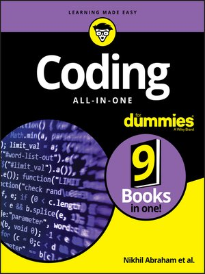 cover image of Coding All-in-One For Dummies