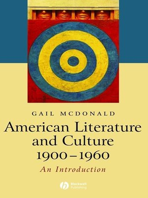 cover image of American Literature and Culture 1900-1960