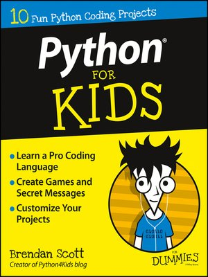 cover image of Python For Kids For Dummies