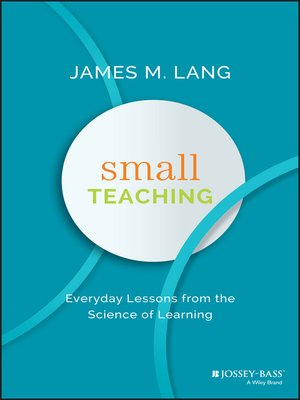 cover image of Small Teaching