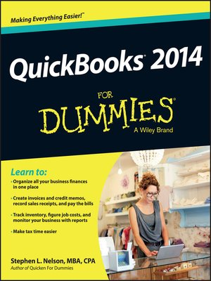 cover image of QuickBooks 2014 For Dummies