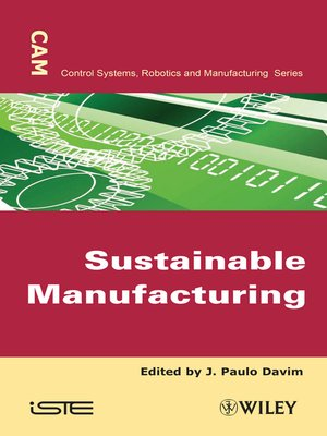 cover image of Sustainable Manufacturing