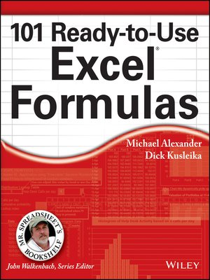 cover image of 101 Ready-to-Use Excel Formulas