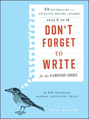 cover image of Don't Forget to Write for the Elementary Grades