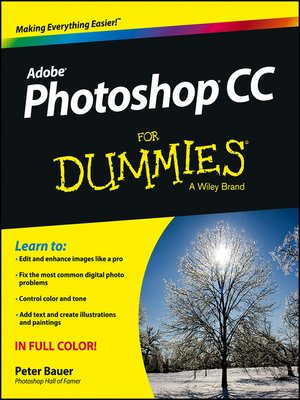 cover image of Photoshop CC For Dummies