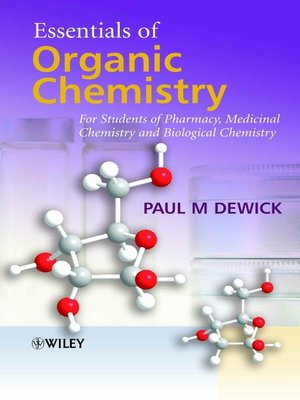 cover image of Essentials of Organic Chemistry