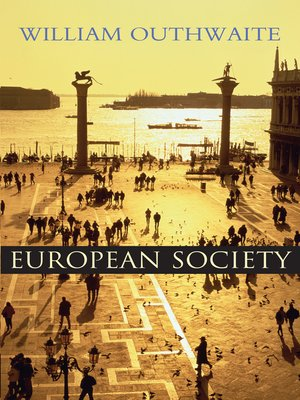 cover image of European Society