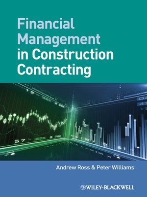 cover image of Financial Management in Construction Contracting