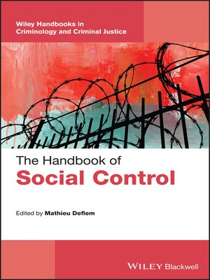 cover image of The Handbook of Social Control