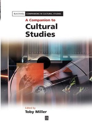 cover image of A Companion to Cultural Studies