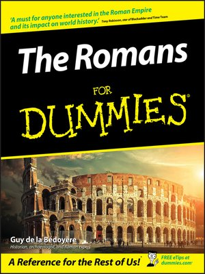 cover image of The Romans For Dummies