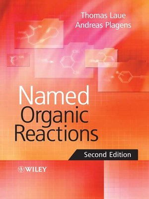 cover image of Named Organic Reactions
