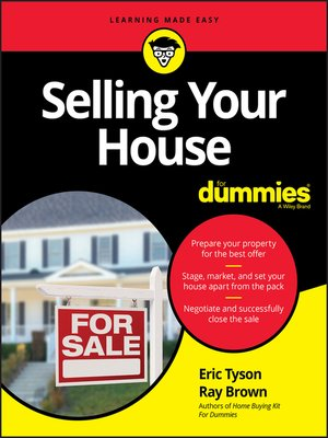 cover image of Selling Your House For Dummies
