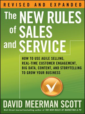 cover image of The New Rules of Sales and Service