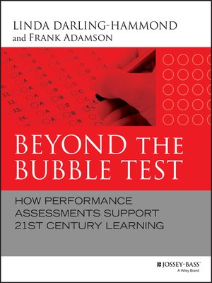 cover image of Beyond the Bubble Test