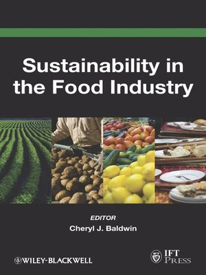 cover image of Sustainability in the Food Industry