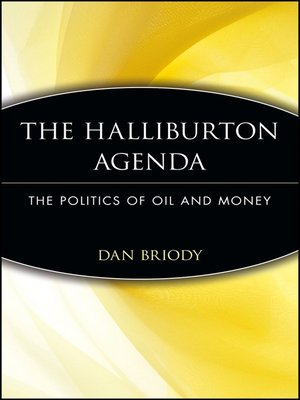 cover image of The Halliburton Agenda
