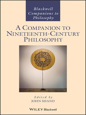 cover image of A Companion to Nineteenth-Century Philosophy