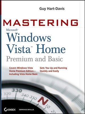 cover image of Mastering Microsoft Windows Vista Home