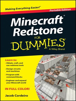 cover image of Minecraft Redstone For Dummies