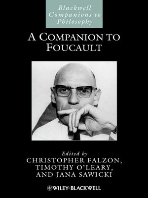 cover image of A Companion to Foucault