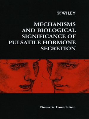 cover image of Mechanisms and Biological Significance of Pulsatile Hormone Secretion