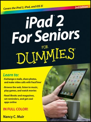 cover image of iPad 2 For Seniors For Dummies