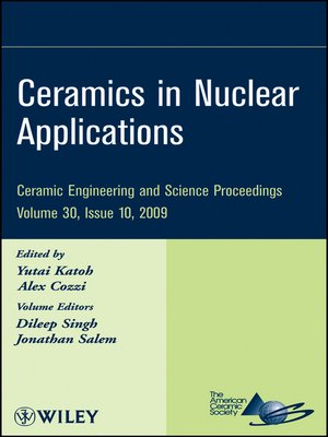 cover image of Ceramics in Nuclear Applications